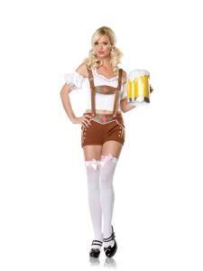 Miss Lederhosen Costume - Sexy Costumes