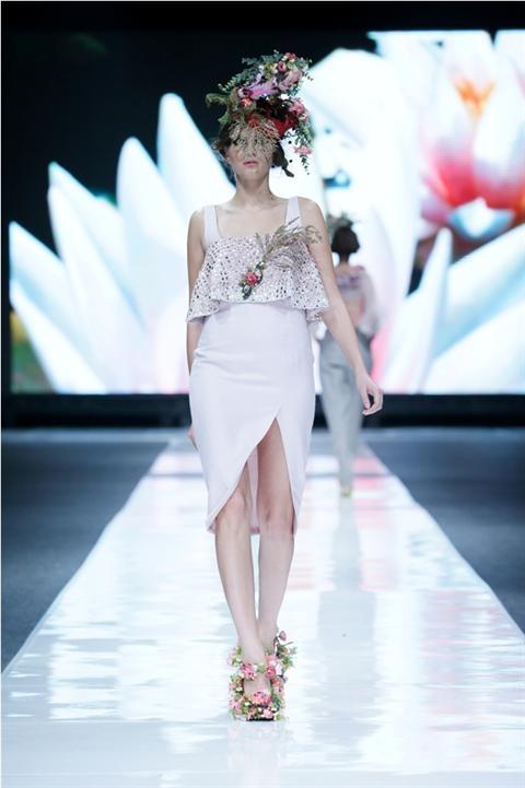 Jakarta Fashion Week 2012-2013..Designer Poppo Ricky. Fashion designer from Indonesia