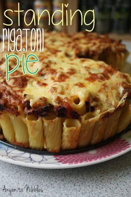 Standing Rigatoni Pie from www.anyonita-nibbles.com
