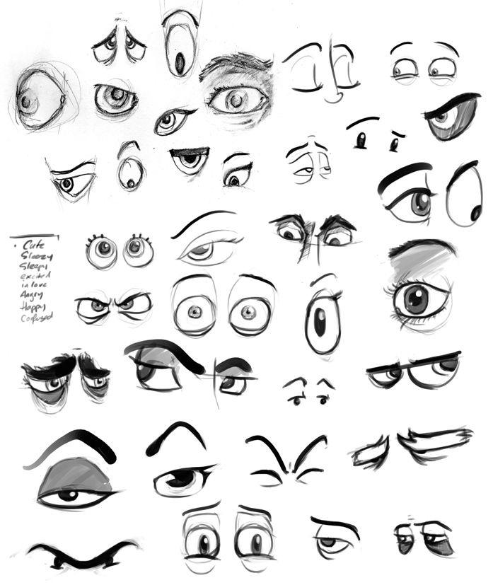 Character Design Eyes : Best images about handyman character reference on
