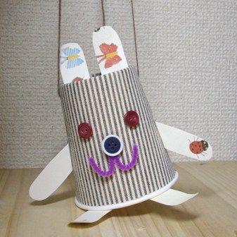 紙コップマリオネットの作り方|人形|ぬいぐるみ・人形|アトリエ