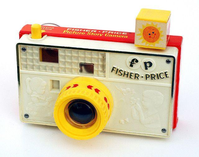 Vintage Fisher Price Toy Camera / By John Kratz on Flickr