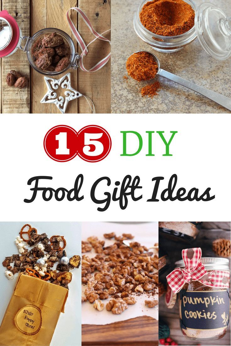 15 Last Minute DIY Holiday Food Gifts | Simple Homemade Gifts ...
