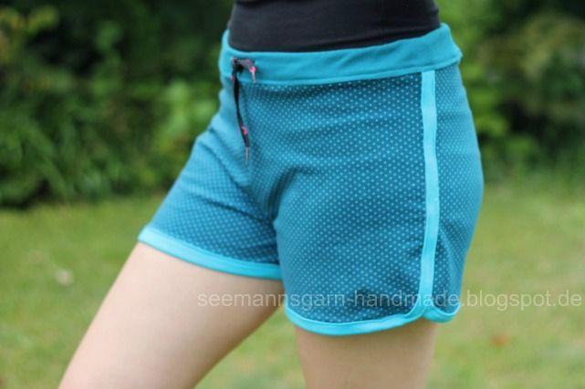 Seemannsgarn: Sommer-Shorts aus Jersey