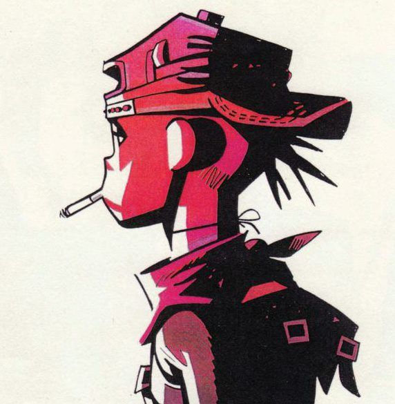 Art by Jamie Hewlett*  • Blog/Website | (https://www.instagram.com/hewll)    ★ || CHARACTER DESIGN REFERENCES (https://www.facebook.com/CharacterDesignReferences & https://www.pinterest.com/characterdesigh) • Love Character Design? Join the Character Design Challenge (link→ https://www.facebook.com/groups/CharacterDesignChallenge) Share your unique vision of a theme, promote your art in a community of over 25.000 artists! || ★