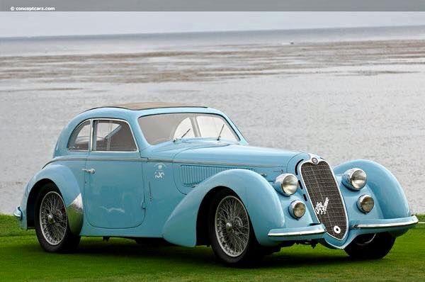 1938 Alfa Romeo 8C 2900B Grand Touring Coupe Berlinetta