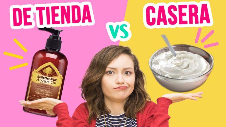 Las cremas para peinar Babyliss son buenas, pero... ¿Si la comparamos con una casera? ¿Será igual? #beauty #beautytip #peinados #cabello #hair