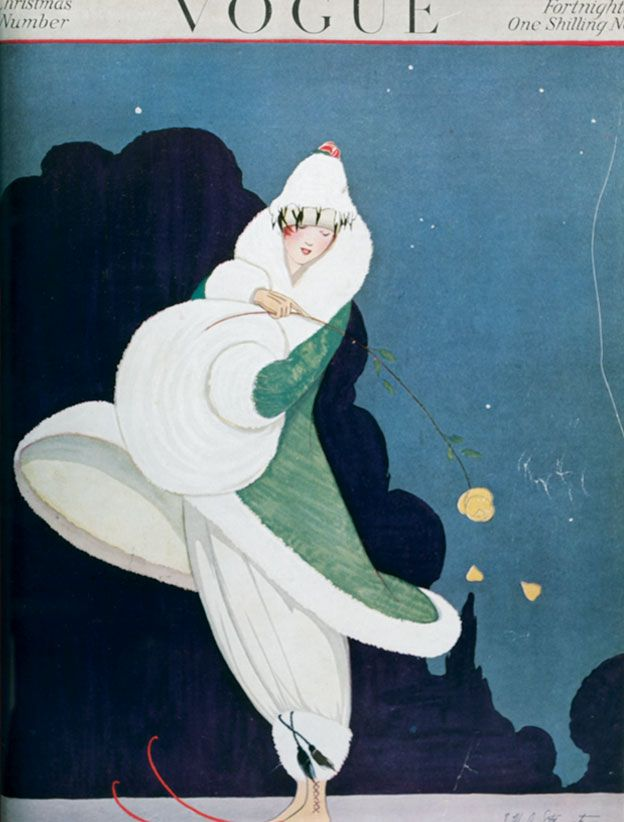 Vintage Vogue cover illustration 1916