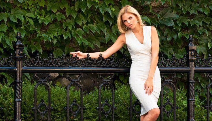 Editorial shoot featuring an Herve Leger dress  | Shop by lookbook inside Sabrina's Closet www.sabrinascloset.com