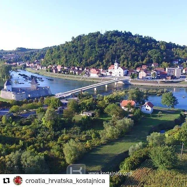 Repost Croatia Hrvatska Kostajnica Get Repost Come Visit The Small Town Of Hrvatska Kostajnica If You Love Fishing Raf Visit Croatia Croatia Small Towns