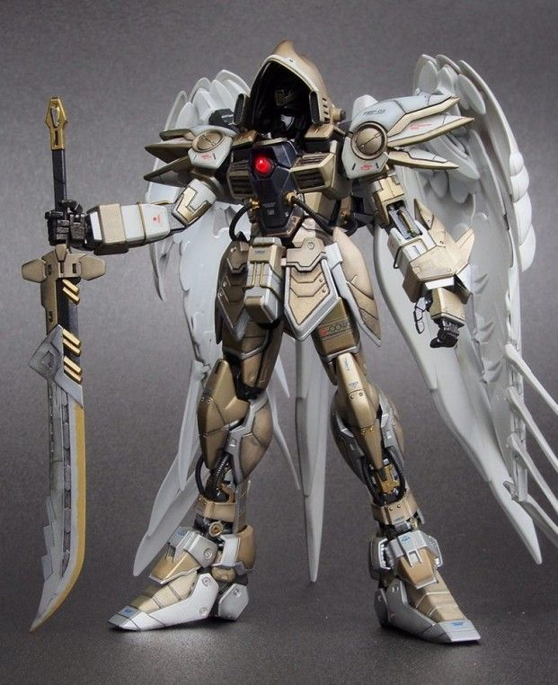 "Custom Build: MG 1/100 Wing Gundam Zero Custom ""Diablo Archangel Ver."" - Gundam Kits Collection News and Reviews"