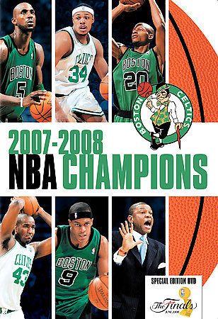 NBA Champions 2007-2008 (DVD, 2008) Boston Celtics Basketball Paul Pierce NBA