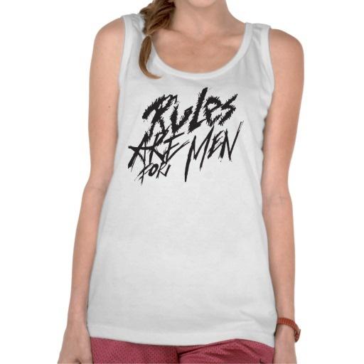 Girls Rule Tank Top - Women's Cool Tank Tops
