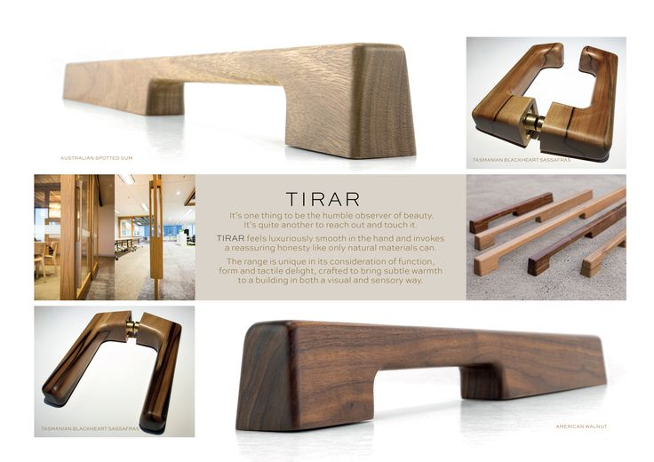 Email info@tirar.com.au for more information on where you can purchase our solid timber door furniture.