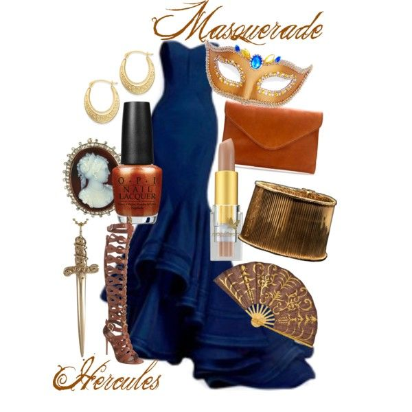 """""""Hercules Masquerade"""" by kmacleod on Polyvore"""