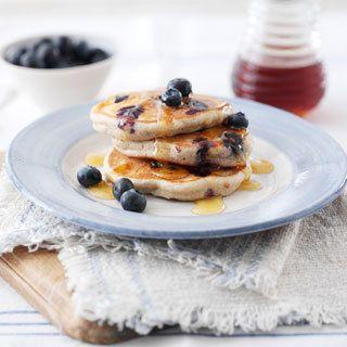 Blueberry & Buckwheat Pancakes | Doves Farm