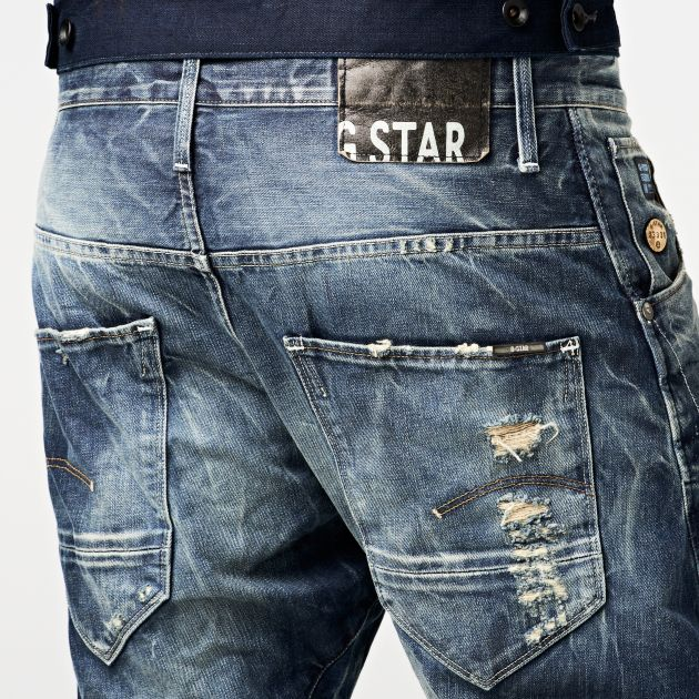 G-Star RAW — Arc Pant Loose Tapered Jeans - Men - Jeans
