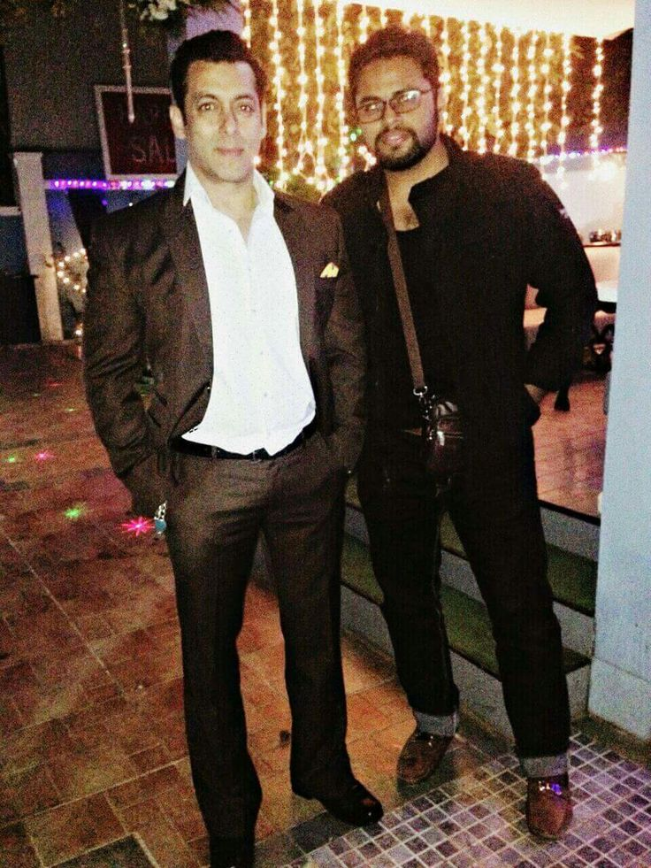 Salman Khan with Actor Danish Khan