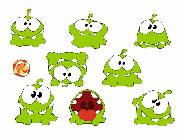 http://idjpanda.deviantart.com/art/Cut-the-Rope-Om-Nom-326798030