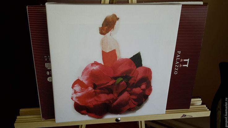 Купить Лепестки роз - белый, подарок, интерьер, спальня, гостиная, кухня, детская комната, девушка