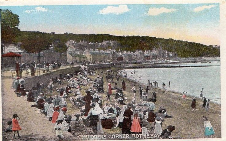 Childrens' Corner, Rothesay (no date).