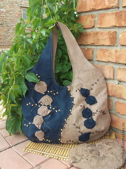 "Handbags handmade. Fair Masters - handmade bag ""She and He .... wave and stone."" Handmade."