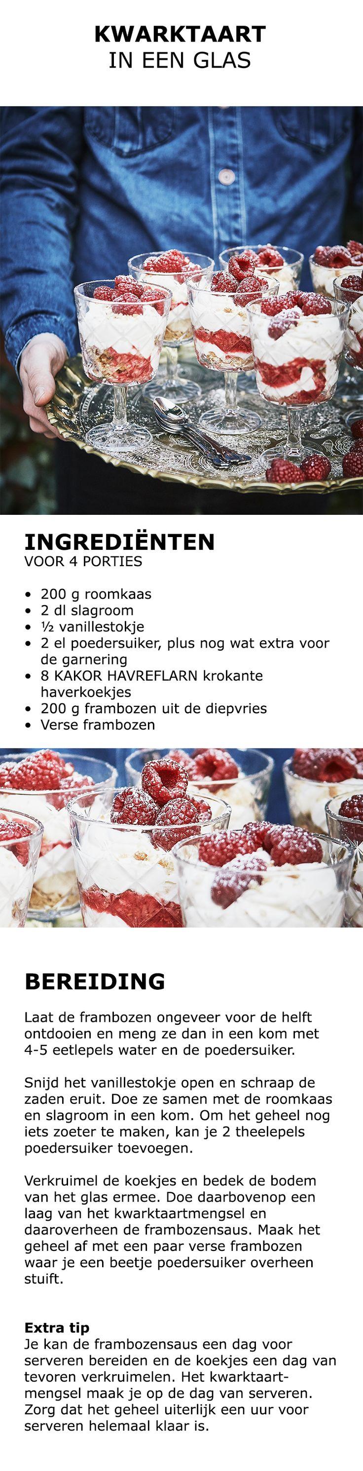 Inspiratie voor in de keuken - Kwarktaart | #IKEA #IKEAnl #inspiratie #keuken #bakken #zoet #taart #vanille #frambozen #KAKORHAVREFLARN #haver