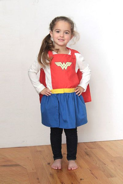 Superhero Cape and Skirt