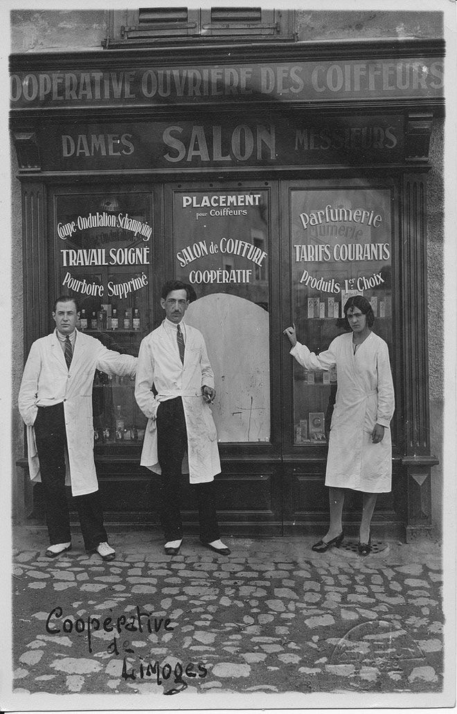 French hair salon