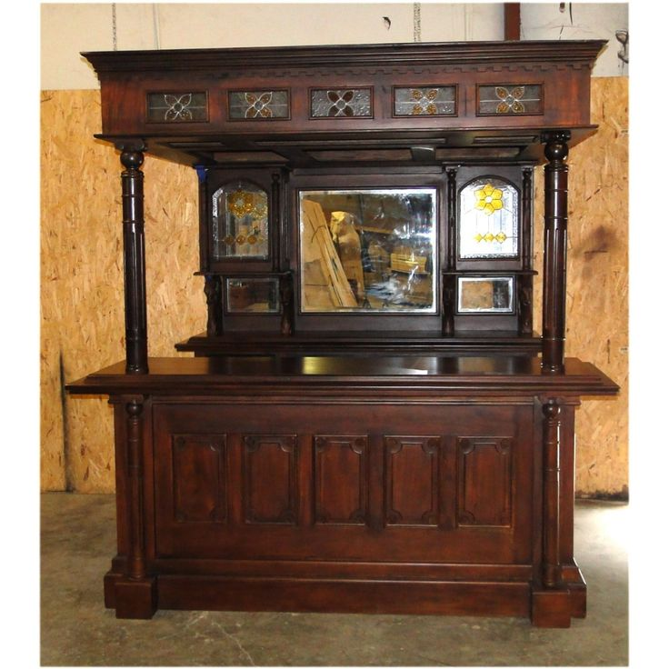 the dublin irish horse equestrian tavern canopy pub home bar furniture mahogany