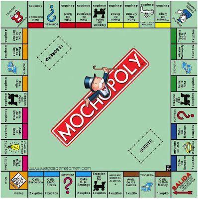 """Sitio oficial de la app """"Juegos para tomar"""": Mochopoly"""