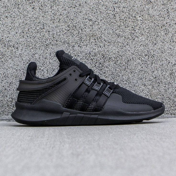Adidas Men EQT Support ADV black core black vintage white
