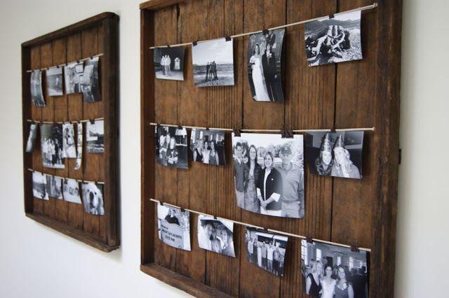 DIY Picture Frame - KUZAK'S CLOSET
