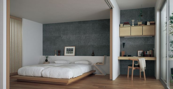CASE STUDY - BED ROOM | KMEW(ケイミュー)は、屋根材・外壁材(サイディング)の製造・販売、雨といの販売を主体とする総合外装メーカーです。