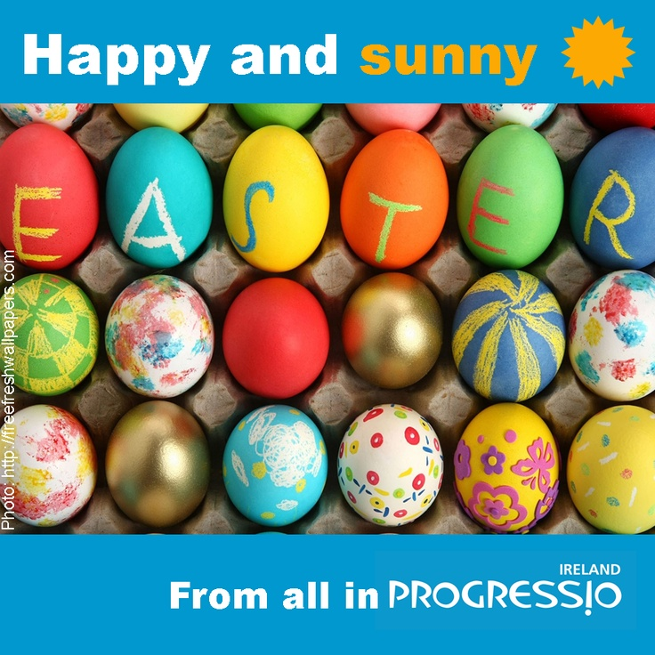 Happy Easter to all our Supporters on Pinterest from the team of Progressio Ireland!