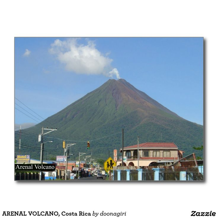 ARENAL VOLCANO, Costa Rica Postcard