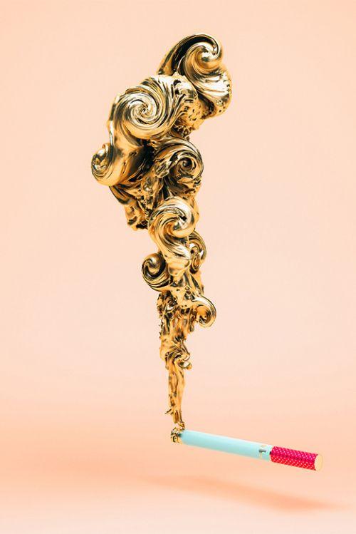 Slovenian Designer Gilds Gold-Named Products
