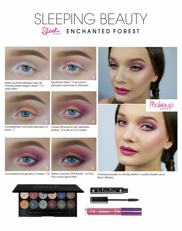 Paleta Farduri Sleek Enchanted Forest - Makeup Shop