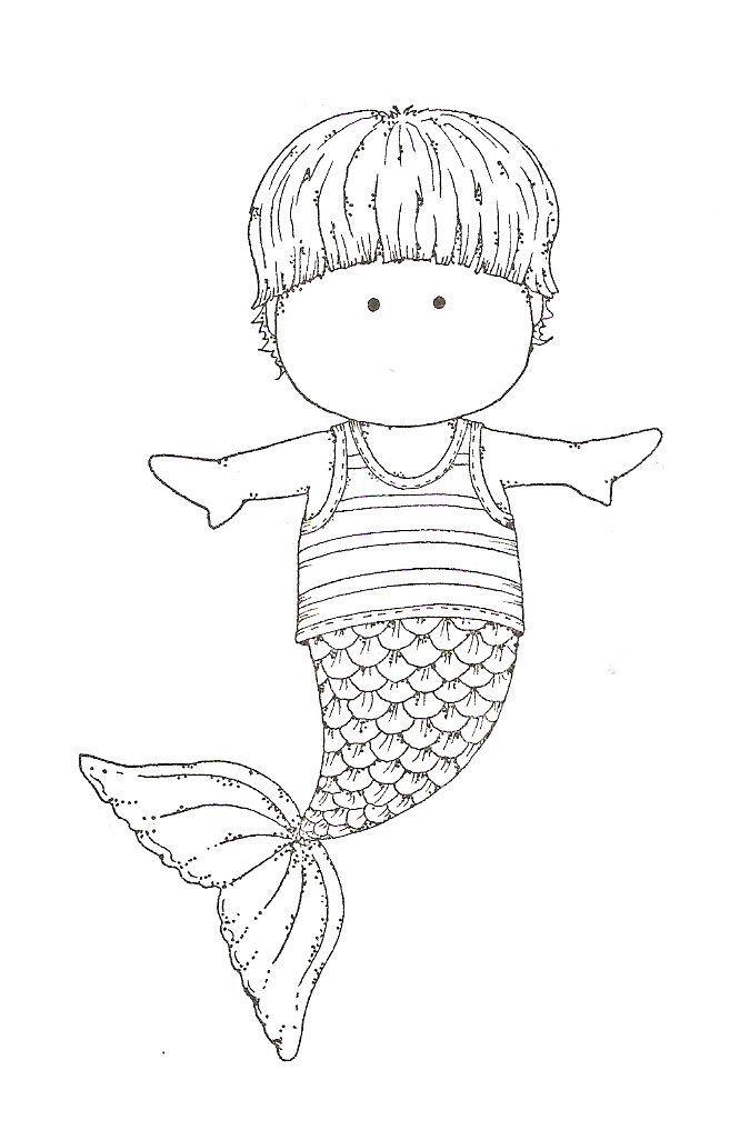 Boy Mermaid Coloring Page Youngandtae Com Mermaid Coloring Pages Mermaid Coloring Mermaid Coloring Book