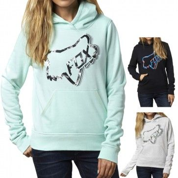 Fox Racing Clothing Time Out Womens Ladies Zip Up Sweatshirt Hoodies