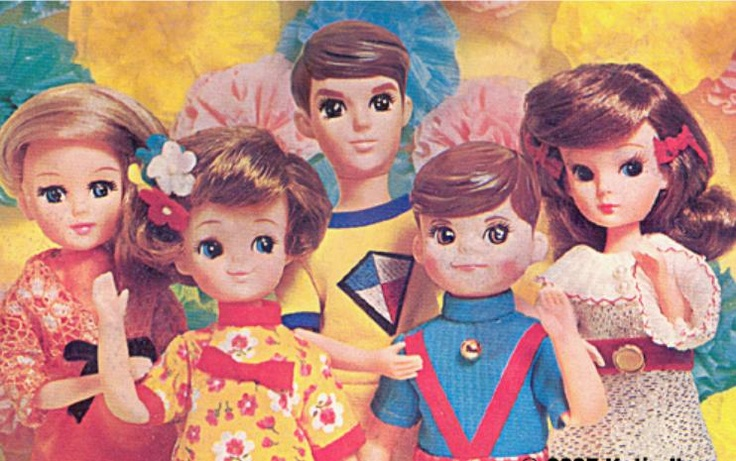 Licca e friends - dolls made in Japan