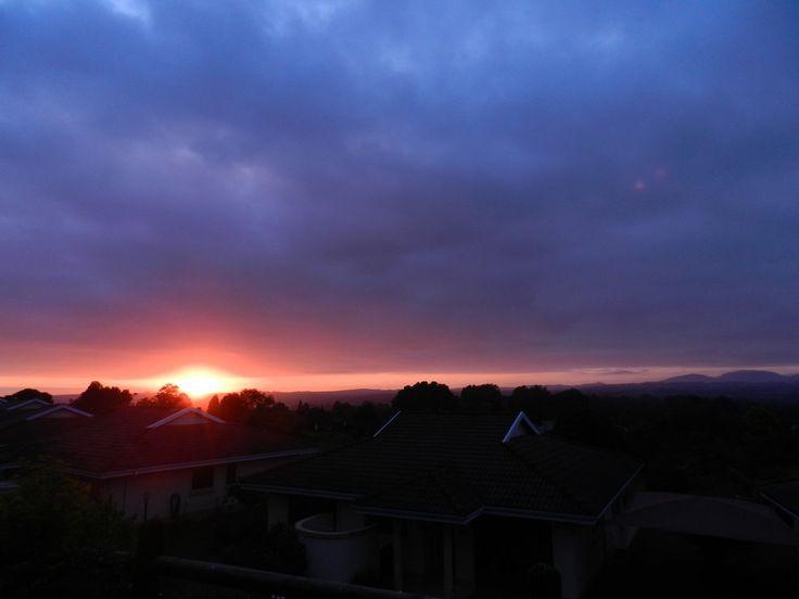 Twitter #howick KZN Sout Africa 5 am sunrise