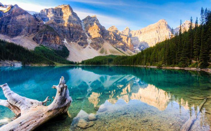 Precioso paisaje en algún lugar de Canadá.