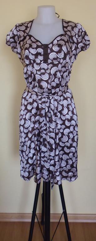 Sukienka brązowa rozmiar 38