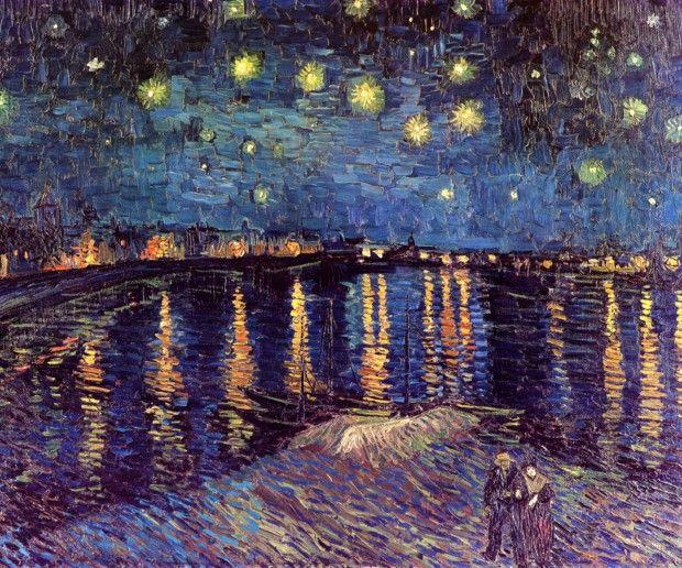 Vincent van Gogh, Starry Night over Rhone, 1898, Musée d'Orsay