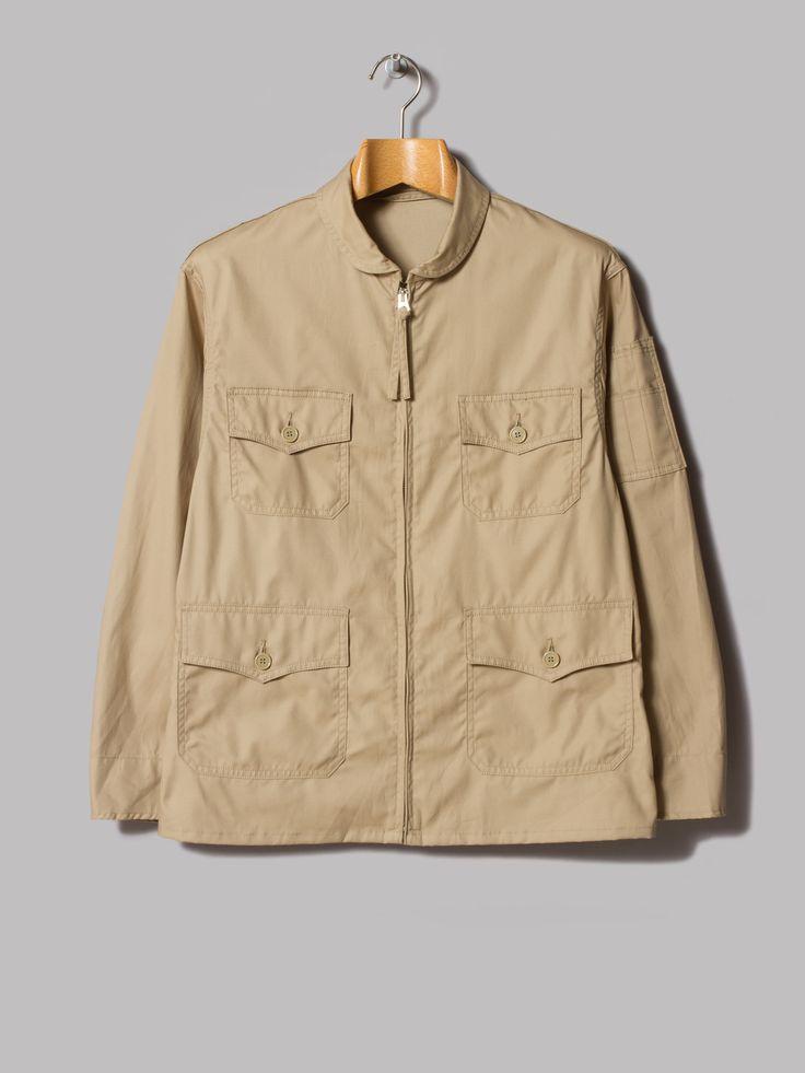 Anatomica USN Flight Jacket (Beige) | Mens fashion /casual wear