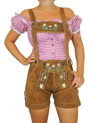 #Wiesn #Oktoberfest #MS #Trachten #Damen #Trachten #Lederhose #braun #34 MS-Trachten Damen Trachten Lederhose braun 34, , Kurze Damen Trachten Lederhose viele Farben, 100% Rindveloursleder Futter 100% Polyestergewebe, Schöne Stickerei, Messertasche,