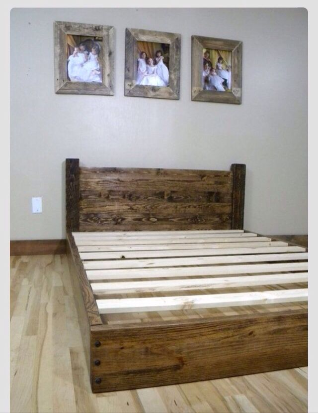 Perfect bed frame DIY