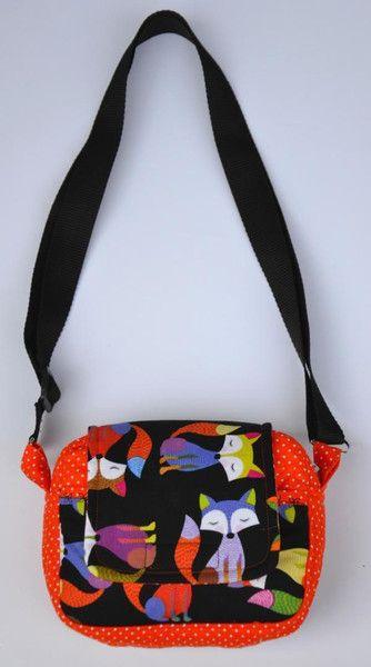 Kindertasche Fuchs von Beblys Kreativlabor auf DaWanda.com