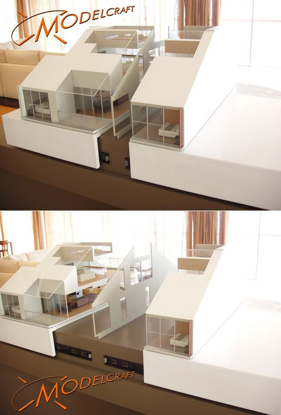1:20 Wharves Apartments. Architectural Model by Modelcraft (NSW) Pty Ltd
